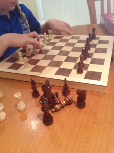 Chess in the morning