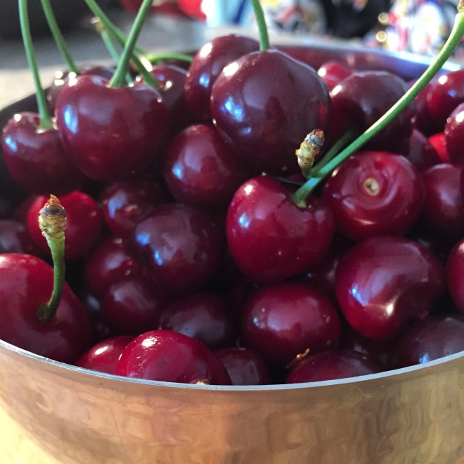 Local cherries #localscan