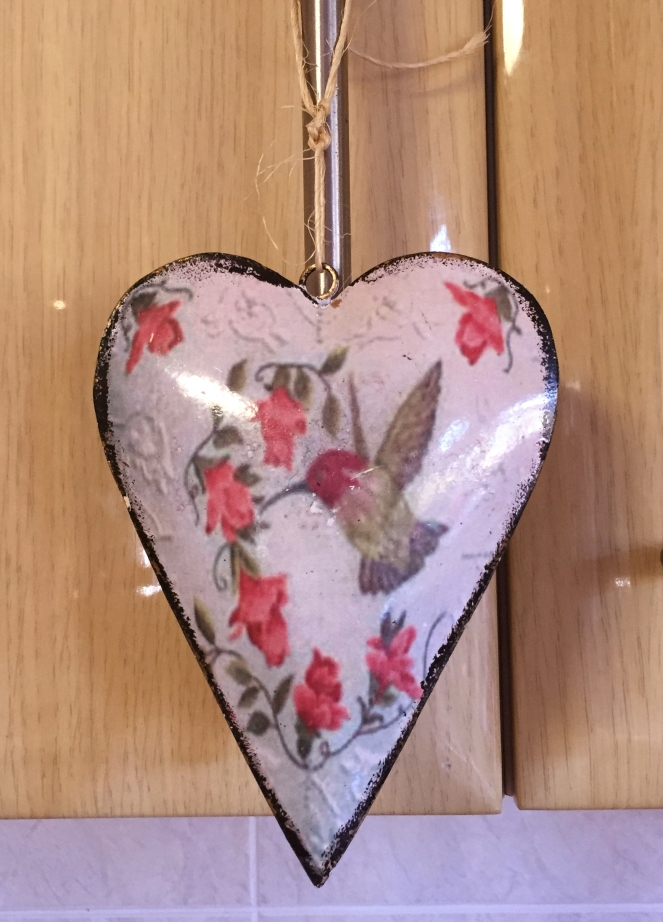 tin love heart