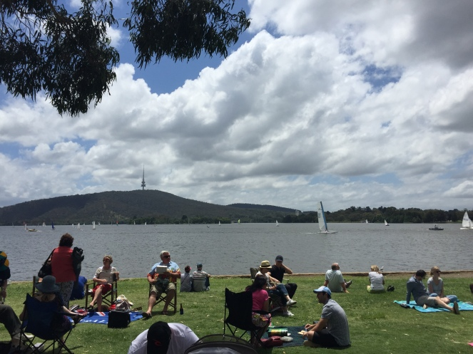 Australia Day at Snapper on the Lake, Yacht Club