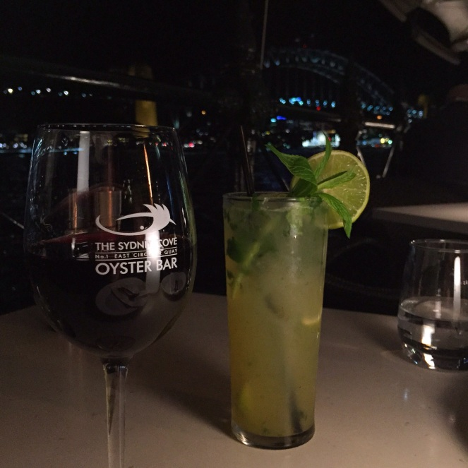 Torbreck, Barossa, GSM, Sydney Cove Oyster Bar, SCO, Sydney, red wine, mojito