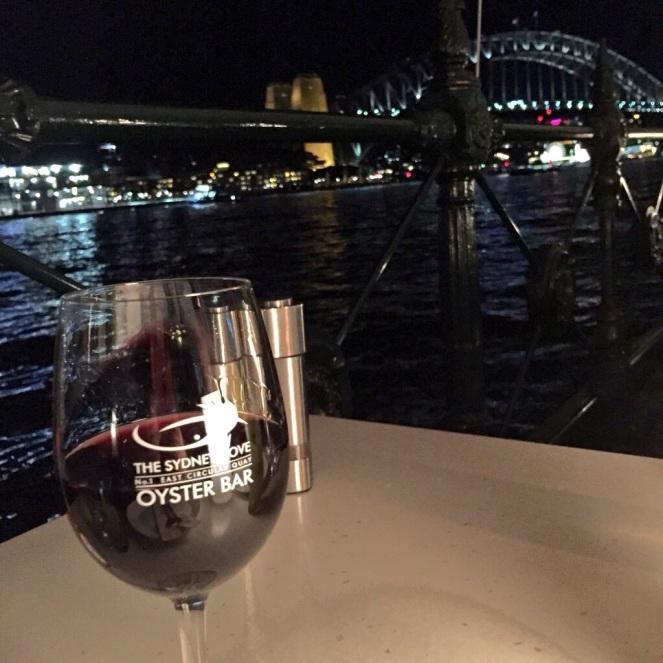 Torbreck, Barossa, GSM, Sydney cove oyster bar, sydney harbour, sydney