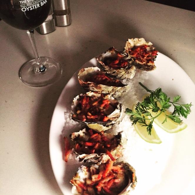 Oysters, Kilpatrick, SCO, Sydney Cove Oyster bar